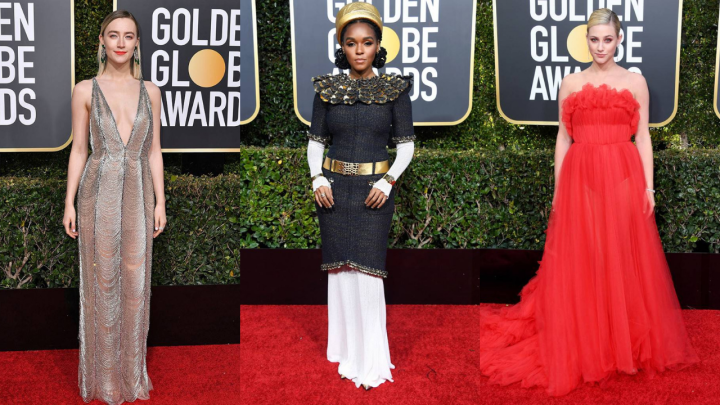 The Best Dressed from the Golden Globes #2019